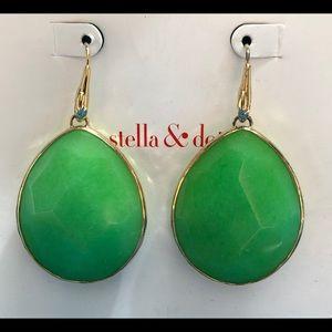 Jade Stella & Dot earrings